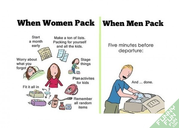 What Women Pack